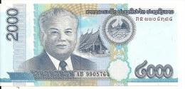 LAOS 2000 KIP 2011 UNC P NEW - Laos