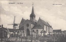 Steene  Stene  Oostende   De Kerk  Edit Lava Ostende    MOLEN MOULIN - Oostende