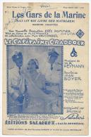 Partition, Les Gars De La Marine Marche Chantée, Musique W.R.Heymann, Editions Francis Salabert, Frais Fr:1.60€ - Partitions Musicales Anciennes