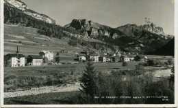 VAL DI FASSA - PERRA VERSO IL SASSOLUNGO - VG 1927 XGENOVA ORIGINALE D'EPOCA 100% - Italie