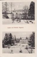 Château Et Vue De LUSSE (Vosges) Schloss In Vogesen- Carte 2 Vues Feldpost-Briefstempel  - VOIR 2 SCANS - - Autres Communes