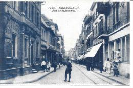 ALLEMAGNE - KREUZNACH - Rue De Mannheim - Bad Kreuznach