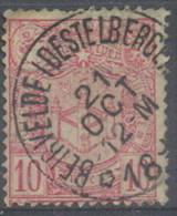 B239---  N° 69 STERAFSTEMPELING BEIRVELDE (DESTELBERGEN)  -TAB - Postmarks With Stars