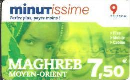 Minutissme: Maghreb Moyen-orient - Frankreich