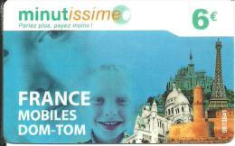 Minutissme: DOM-TOM Mobile - Frankreich