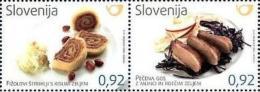 SI 2013-1038-9 GASTRONOMIA, SLOVENIA, 1 X 2v, MNH - Ernährung