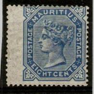 MAURITIUS 1880 8c SG 94 MOUNTED MINT Cat £38 - Mauritius (...-1967)