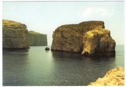 MALTA-GOZO DWEJRA-FUNGUS ROCK / THEMATIC STAMP-JACQUES COUSTEAU - Malta