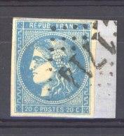 FRX 269  -  France  :  Yv  46B  (o)   GC 1714  Grenade Sur L' Adour - 1870 Emisión De Bordeaux