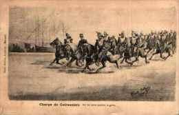 Militariat Illustré - 77 - Charge De Cuirassiers Par Charles Pellegrin - Militaria