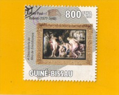 GUINEE  -  BISSAU ,,, PETER  PAUL  RUBENS  (  1577  //  1640  )  ,,, **  800   FCFA **  POSTE 2010 ,, TBE - Guinea-Bissau