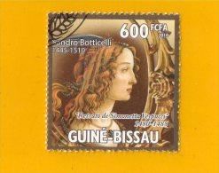 GUINEE  -  BISSAU ,,,  SANDRO  BOTTICELLI    (  1445  //  1510  ) ,,, **  600   FCFA **  POSTE 2010 ,, TBE - Guinea-Bissau
