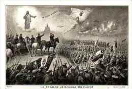 Militariat Illustré - 95, La France, Le Soldat Du Christ - Militaria