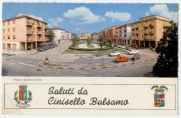 CINISELLO BALSAMO, SALUTI, VG 1971, FORMATO GRANDE   **** - Cinisello Balsamo
