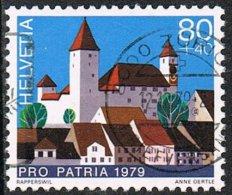Switzerland SG980 1979 Pro Patria 80c+40c Good/fine Used - Switzerland