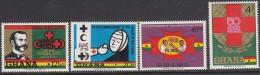 GHANA, 1970 RED CROSS 4 MNH - Ghana (1957-...)