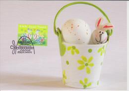 Finland Maximum Card Mi 2013 Easter - Eggs - Rabbit 2010 - Enteros Postales