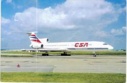 Thème -Transport -  Avion - Air Hobby 17 - Tupolev TU-154 M OK TCD C/n 792 At Praha 8/93 - CSA - VOIR ETAT - 1946-....: Moderne