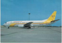 Thème -  Avion - Air Hobby 73 - Boeing 737-4Y0 D-ABAJ/EC-FLD Cn 25180 Berlin SXF 5/96  AIR BERLIN - 1946-....: Moderne