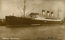 AK S.D. Cap Polonio 1928 SD Schiff Dampfer HSDG Hamburg Südamerika Ship Steamer - Paquebots