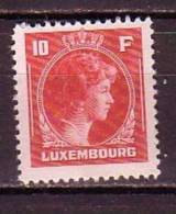 PGL - LUXEMBOURG Yv N°354 ** - 1926-39 Charlotte Right-hand Side
