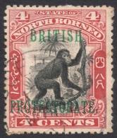 North Borneo, 4 C. 1901, Sc # 108, Mi # 100, Used - Borneo Del Nord (...-1963)