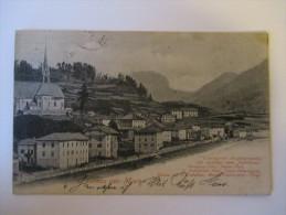 AK Österreich / Italien 1890 Gruss Aus Moena Echt Gelaufen Und Guter Zustand! Moena Mit D. Lattemar / Fleimsthal - Italien