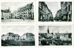 Lot 12 Cpa Euskirchen, Rues, Kaserne, Gymnasium, ... - Euskirchen