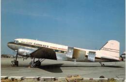 Thème -  Avion - Aviation Hobby Shop AHS 129 - G AKJH Douglas DC3 Derby Airways Cargo Cn 13464 - 1946-....: Moderne