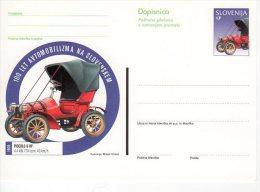 SLOVENIA 1998 (35 T.}   Benz Velo Automobile Postal Stationery Card, Unused.  Michel P57 - Slovenia