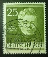 BERLIN 1952: Mi 98, O - KOSTENLOSER VERSAND AB 10 EURO - Berlin (West)