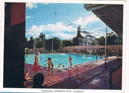 AFR-728   SALISBURY : Municipal Swimming Pool - Zimbabwe