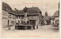 Saint-Amarin - Fontaine Vue De La Place Du Président Wilson - Saint Amarin