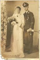 WWII - Portrait / Hochzeit / Luftwaffe Mit Orden - Weltkrieg 1939-45