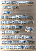 115 Nutzbare ATM Marken Ohne Gummi - [7] West-Duitsland