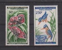 TCHAD  //Poste Aérienne //   N 2 Et 5 //  NEUF ** // Oiseaux - Chad (1960-...)