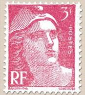Marianne De Gandon; 3F Rose - France - Année 1945 - N° 716 - France