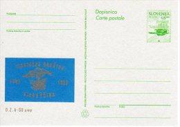SLOVENIA 1993 8.00 T.  Commemorative Postal Stationery Card Unused.  As Michel P6a - Slovenia