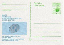 SLOVENIA 1993 8.00 T.  Commemorative Postal Stationery Card, Unused.  As Michel P6a - Slovenia