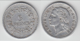 ****  5 FRANCS 1946 C LAVRILLIER ALUMINIUM **** EN ACHAT IMMEDIAT !!! - J. 5 Francs
