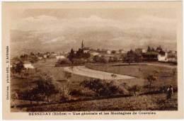 Bessenay - Vue Générale Et Les Montagnes De Courzieu - France