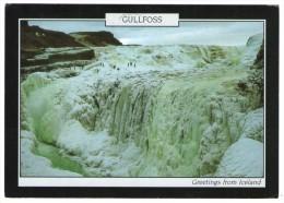 ICELAND - GULFOSS THE GOLDEN WATERFALL / THEMATIC STAMP-EUROPA CEPT 2001 - Islanda