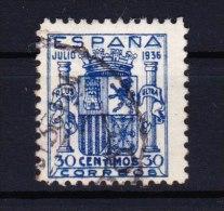 01929 Edifil 801 O Cat. Eur. 183,- - 1931-50 Usati