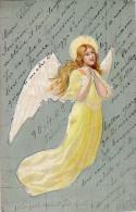 AK ENGEL ANGEL  OLD POSTCARD 1902 - Anges