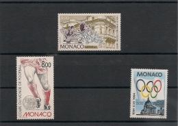 MONACO  Année 1994 Sport N° Y/T : 1937-1940/41** - Monaco