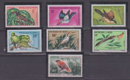 NIGER  //  Série Oiseaux   // N 238 à 243  //  NEUFS**  // - Niger (1960-...)
