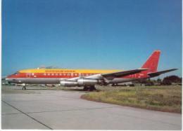 Thème -  Avion - Dexempo - DP 035 - Mc Donnell Douglas DC 8 21 N8605 Cn 45426 Of Quisqueyana In Basic Air Spain Colours - 1946-....: Moderne