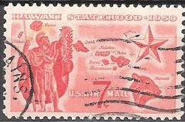 """UNITED STATES   #   STAMPS FROM YEAR 1959  """" STANLEY GIBBONS   A1133 """" - 2a. 1941-1960 Used"""