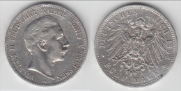 **** PREUSSEN - PRUSSIA - ALLEMAGNE - GERMANY - 5 MARK 1895 A WILHELM II - ARGENT - SILVER **** EN ACHAT IMMEDIAT !!! - [ 2] 1871-1918 : Empire Allemand