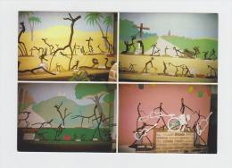 52 PREZ Sous LAFAUCHE Le Zoo De Bois Arbre Humour Orchestre Cactus Girafe Agriculture Accordéon Guitare Lampion - Autres Communes